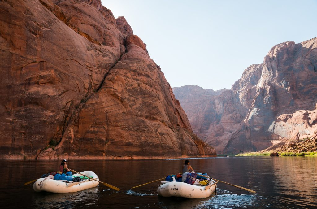 Colorado River Rafting. Credit. Amy Martin
